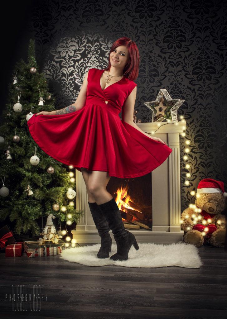 Így is lehet karácsonyi Glamourt fotózni
